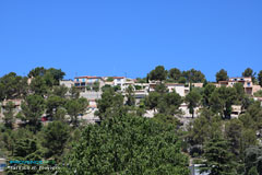 Carnoux en Provence, houses in the hills