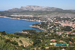 Cassis from the route des Cretes