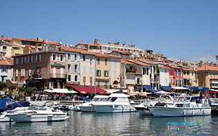 Cassis, port de plaisance