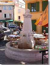 Eguilles fountain
