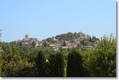 The village of Eygalières