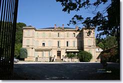 Lamanon, château