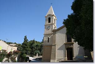 Lamanon, église