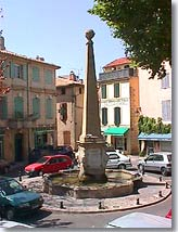 Lambesc - Fountain