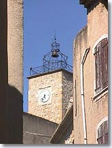 Lancon de Provence bell tower
