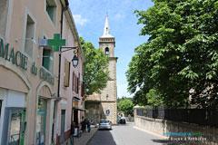 La Roque d'Anthéron, rue de l'église