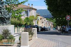 La Roque d'Anthéron, rue