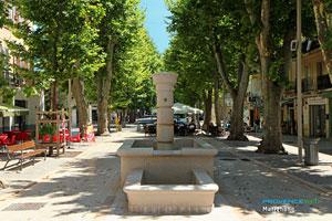 Marignane, fontaine