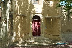 Marignane, porte de l'église