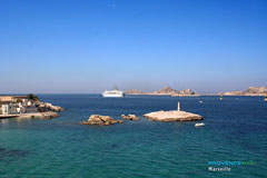 Marseille, If Castle and Frioul Islands