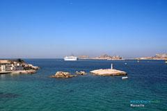 Marseille, château d'If et îles du Frioul