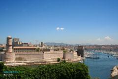 Marseille, entrée du port