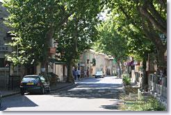 Maussane les Alpilles, rue