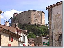 Meyrargues, the castle overlooking the village