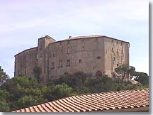 Meyrargues, the castle