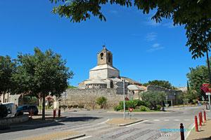 Noves, église Sainte Baudile