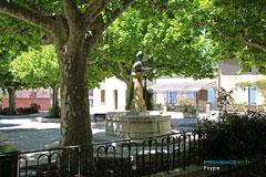 Peypin, place