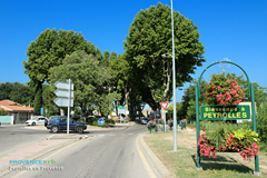 Peyrolles en Provence, arrivée