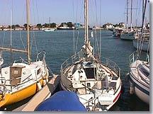 Port Saint Louis du Rhône, voiliers