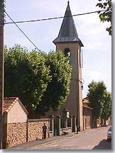 Le Puy Sainte Reparade bell tower