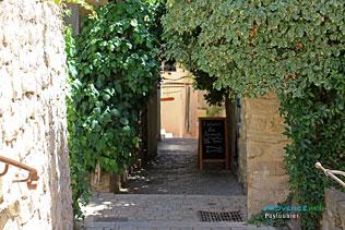 Puyloubier, passage