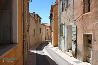 Puyloubier, petite rue