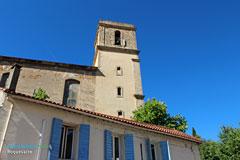 Roquevaire,clocher de l'église