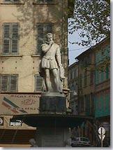 Salon de Provence - Statue d'Adam de Craponne