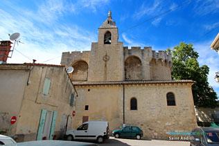 Saint Andiol, église Saint Vincent et 6 Photos HD