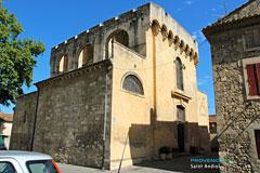 Saint Andiol, dos de l'église Saint Vincent