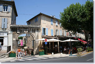 Saint Remy De Provence Town In The Alpilles Provence Web France