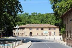 le tholonet village in aix en provence area provence web