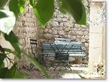 Buis les Baronnies, terrasse