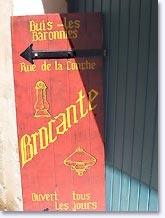 Buis les Baronnies, antiques