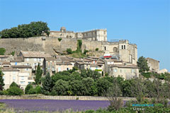 Grignan, the castle