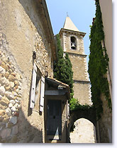Mirabel aux Baronnies, belltower