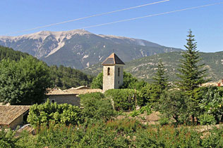 Plaisians and the Mont Ventoux, 7 Photographs