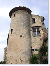 Le Poet-Laval, tower