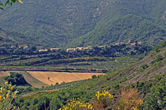 Rochebrune, village in the mountain