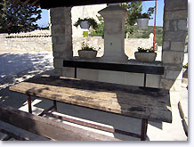 Rochebrune, bench