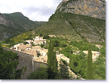 Saint May, village in the mountain