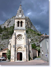 Séderon, Sederon, church under the rock