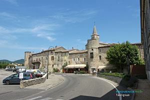 Taulignan, the village and the Malle Poste restaurant
