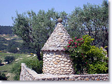 Vinsobres, stone tower