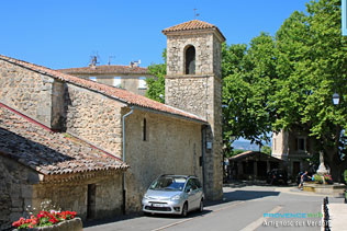 Artignosc sur Verdon, clocher