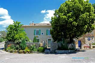 La Bastide, post office