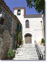 Baudinard sur Verdon - Church