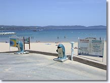 Cavalaire sur Mer - The beach