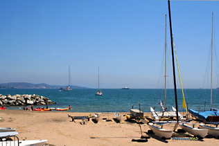 Port-Cogolin, beach