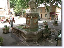 Cotignac - Fountain